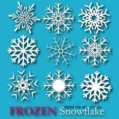 Frozen Snowflake Cli /h2>  http://ift.tt/1L46Ewr  Mein Blog#tumblr