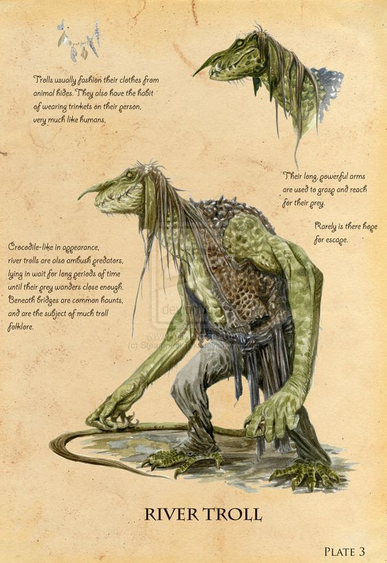 river troll spiderwick - Google Search: