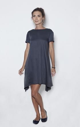 LeMuse Deep Blue Bell Dress