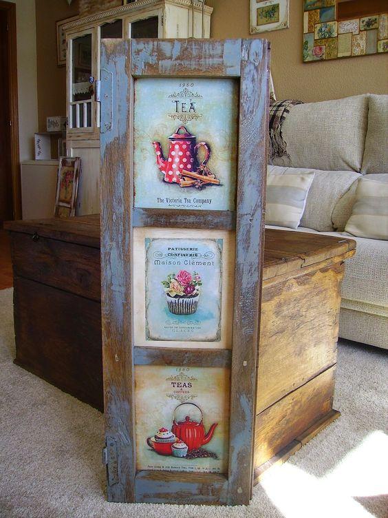 Retazos de madera decoraci n pinterest - Cocinas hechas a mano ...