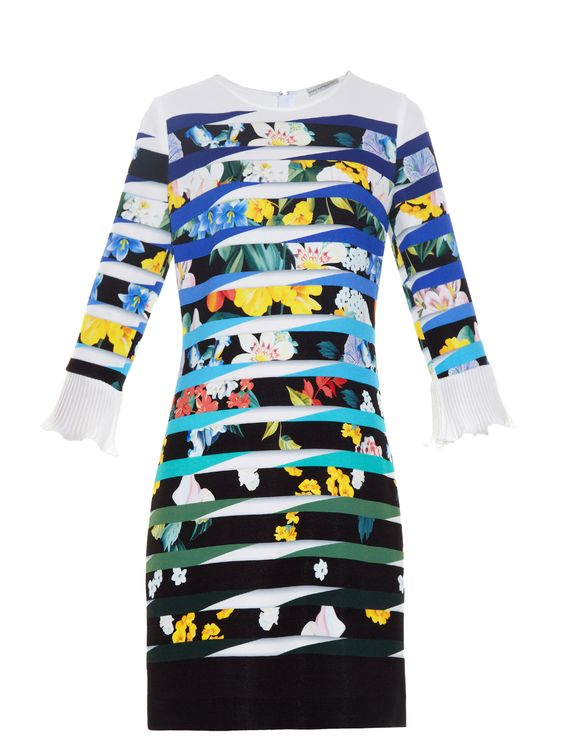 Mary Katrantzou dress - worn by Zara Phillips: