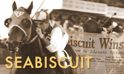 One of the most remarkable thoroughbred racehorses in history, Seabiscuit was the long shot that captured America's heart during the Depression.