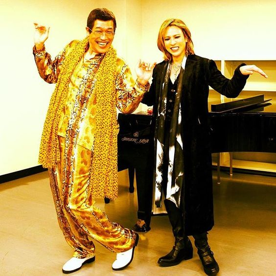 I have an #X. I have #Japan Uh!..#XJAPAN! @pikotaro_ppap_official  #ppap