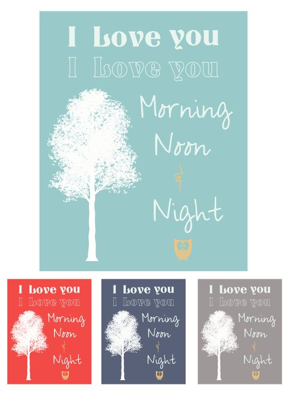 Love colour combo! nursery art printable free blue red navy grey ...