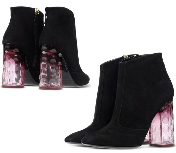 Les 25 chaussures les plus spectaculaires de la saison : http://tendance-talons.com/?p=15151 - Bottines Nicholas Kirkwood, automne-hiver 2015/2016