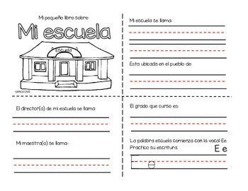 El set contiene 4 actividades de inicio del tema de mi for A que zona escolar pertenece mi escuela