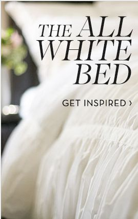 Get Inspired with the All White Bed