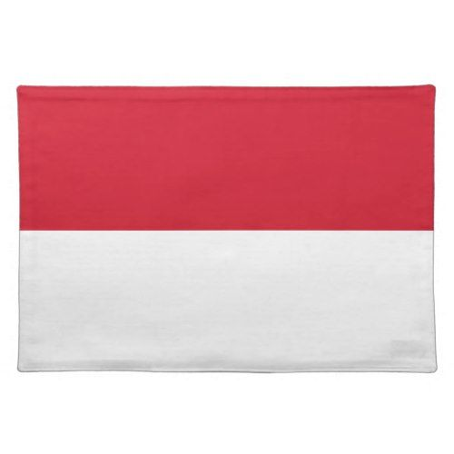 Low Cost Indonesia Flag Placemat Flag Monaco Flag Custom Placemats