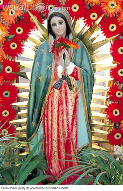 Our Lady of Guadalupe Statue, Zihuatanejo, Mexico