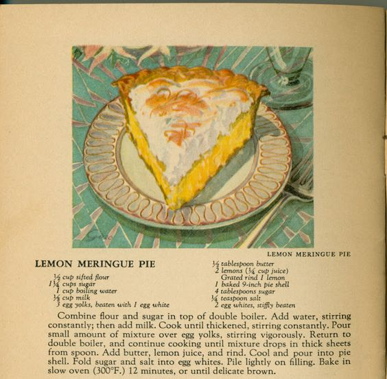 Grannie Pantries: In which your humble writer learns that meringue is not the problem