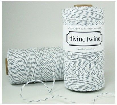240 Yards Gray Divine Twine