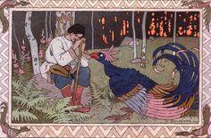 Иван Билибин «Русские народные сказки» Марья Моревна