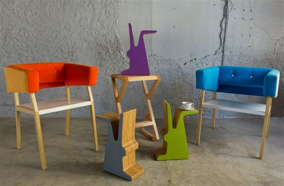 new pieces by Fusca / linda!!!!