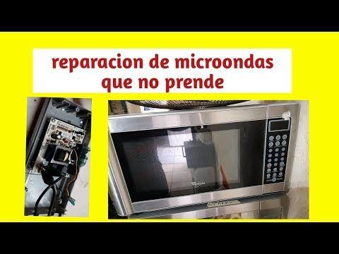 Microondas Whirpool Reparacion De Tarjeta Que No Prende Youtube Microondas Horno Microondas Hornos Microondas