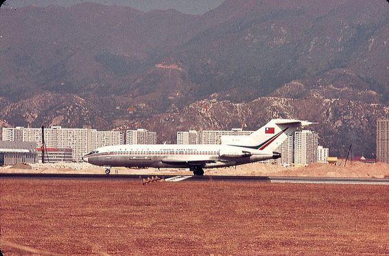 CAL B727-109C | China Air Lines B727 B-1822 at Hong Kong Kai… | Flickr