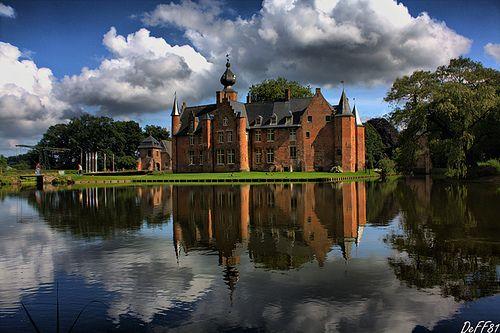 Rumbeke castle, belgium