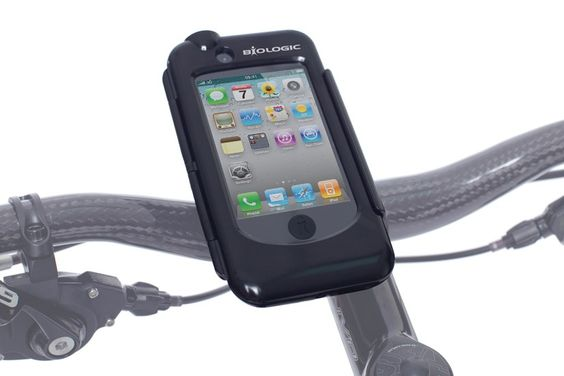 Bike mount for iPhone.