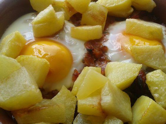 Huevos a la Flamenca. | Cocina A Buenas Horas
