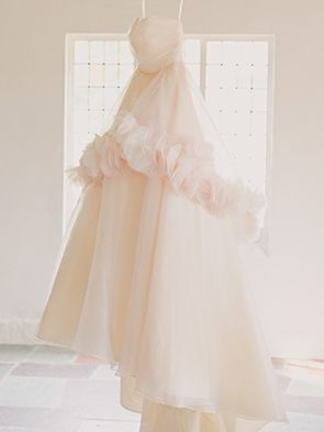 a wedding dress with a wow factor