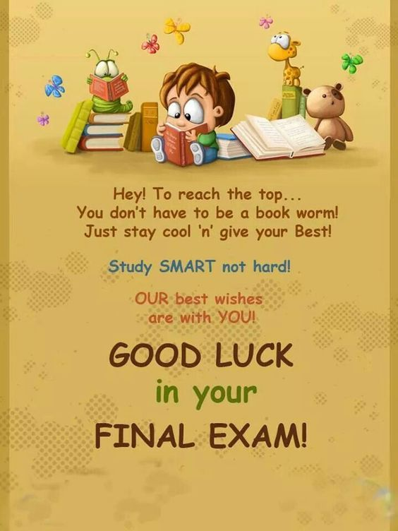 15 Good Luck On Your Test Wishes And Messages