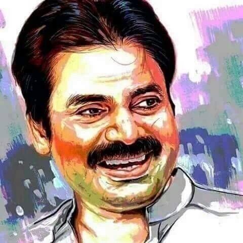 Image Result For Pawan Kalyan Painting Images Painting Image Art