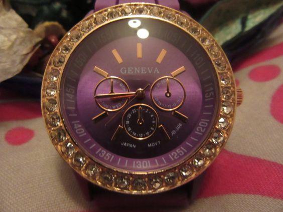 Purple watch de Victoriaprettyangels en Etsy