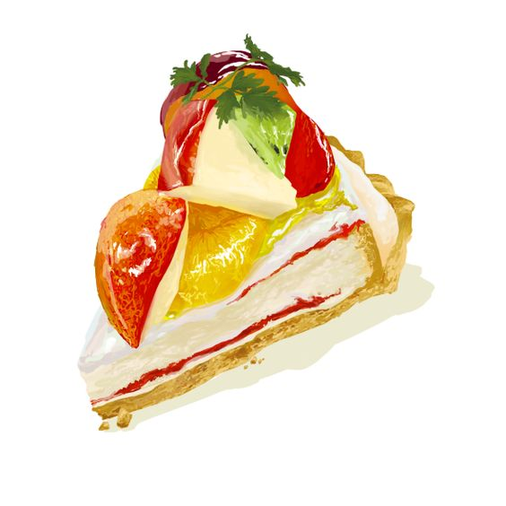 Fruits Tart by kkzt.deviantart.com on @DeviantArt