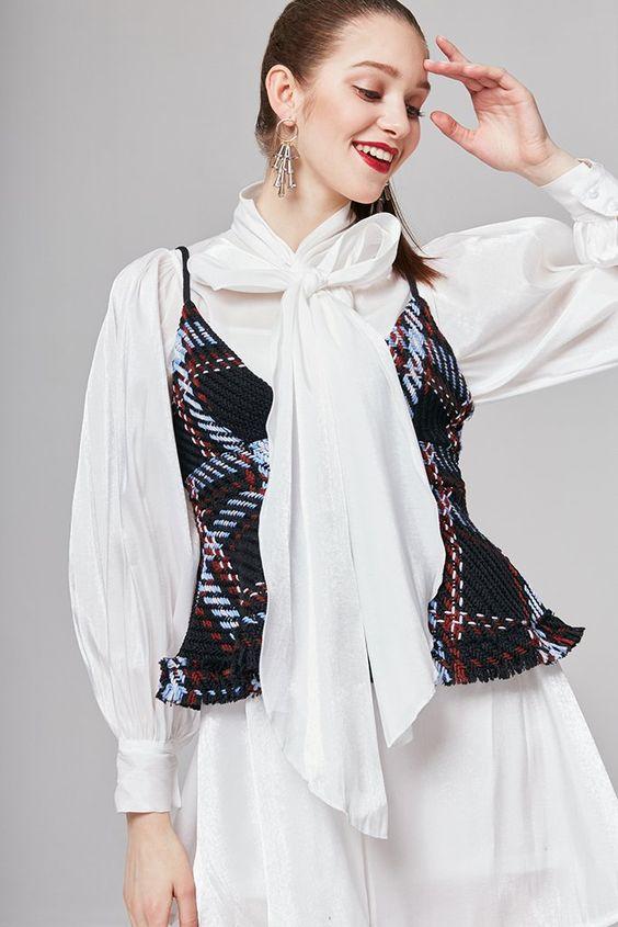Scarlett Tie-Neck Blouse #fashionista#fashionblogger #fashionblog#fashionable #fashionstyle#styleblogger#styleblog#streetstyle#streetwear #streetfashion#inspiration#trend#trendy #trends #trendalert#photooftheday #styleoftheday #stylegram #lookbook#lookoftheday #whatiwore #lovethislook #festival #ootd#ootdfashion#springlooks#swimwears