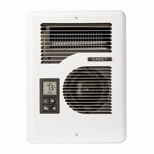 Multi Volt Energy Plus Electric Wall Heater W Digital Thermostat 1000 1500 1600w 120 208 240v Product I Wall Mounted Heater Heater Thermostat Garage Heater