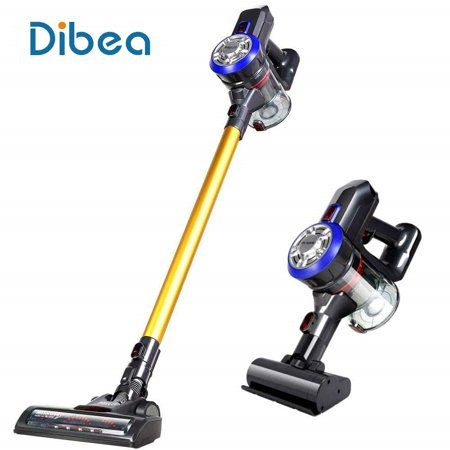 Dibea D18 Dw200 2 In 1 Cordless Stick Vacuum Cleaner Wireless Handheld Car Vacuum With 9000 10000pa High Powerful Suction Wall Mounted 4 Stages Filtration For Cordless Vacuum Cordless Vacuum Cleaner Stick Vacuum