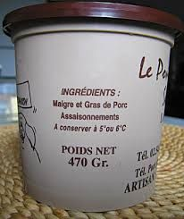 Image result for rillettes definition