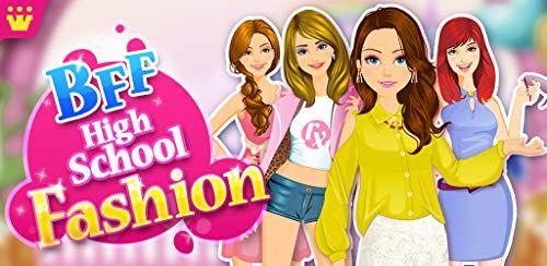 Bff High School Fashion By Games2win Best Games For Free In 2020 Fun Fashion Games Fashion Games For Girls Fashion Designer Game
