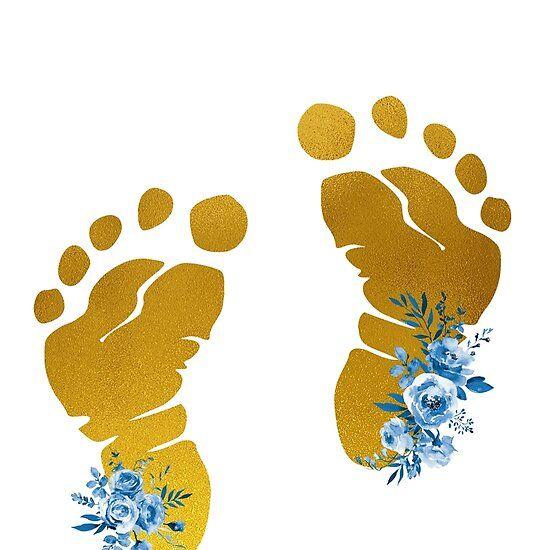 Baby Feet Baby Feet Art Baby Shower Art Baby Feet