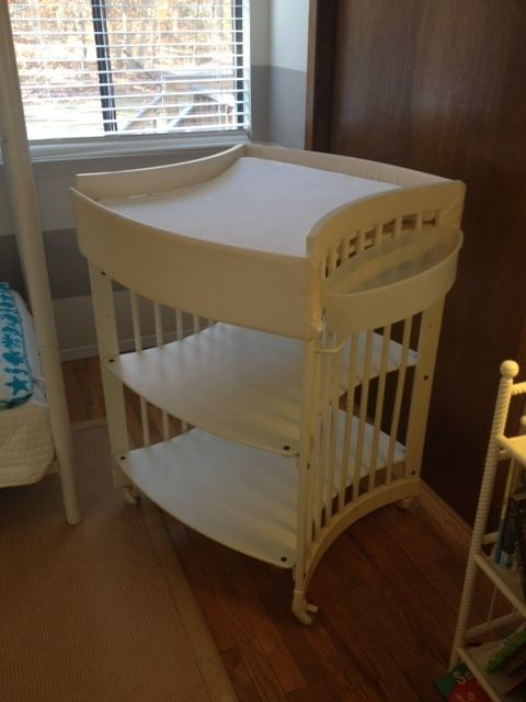 70 Off Great Condition Stokke Care Changing Table Perfect For Any Nursery Stokke Care Dressers Changi Dresser Changing Table Changing Table The Hamptons