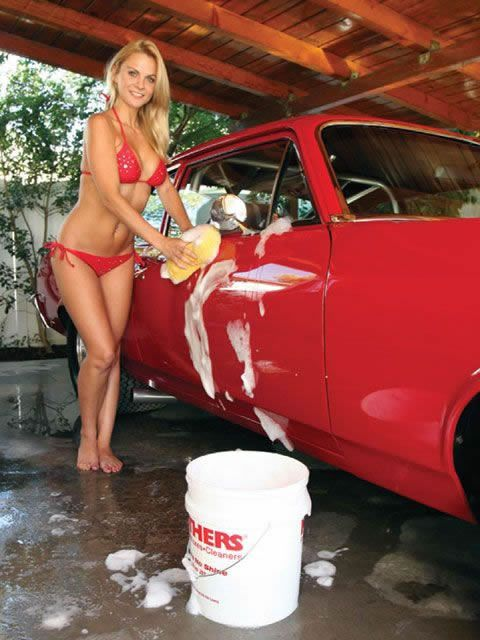 Hot Women Car 62