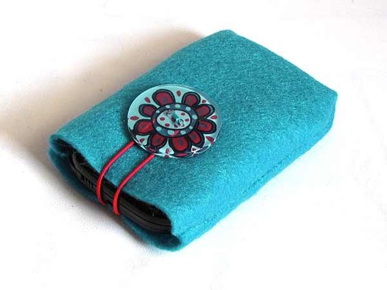 Make your own cell phone cover/holder