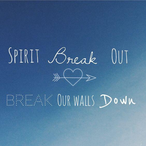 Spirit break out