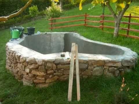 Construcci n de un estanque parte 1 http www for Como hacer un criadero de carpas