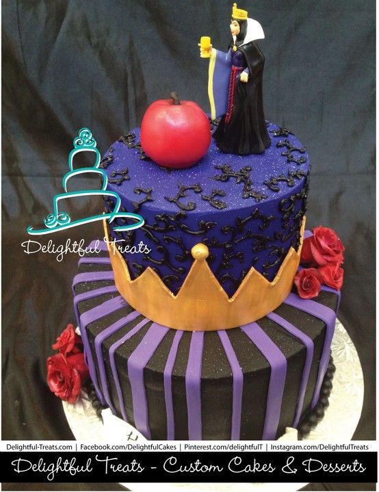 The Evil Queen Cake Disney Takes The Cake 4