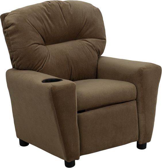 Brown Kids Recliner