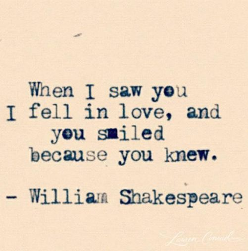 Shakespeare!
