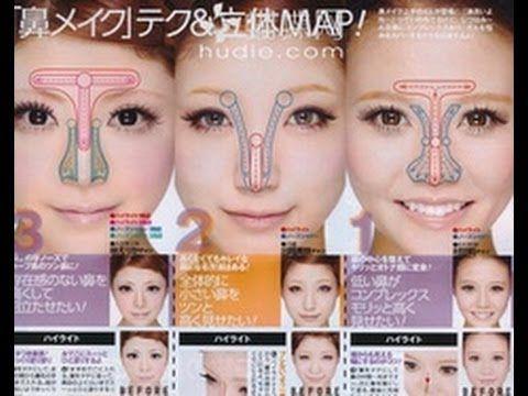 How To Properly Contour A Bulbous Nose Make Nose Look Smaller Nose Contouring Nose Makeup Rhinoplasty