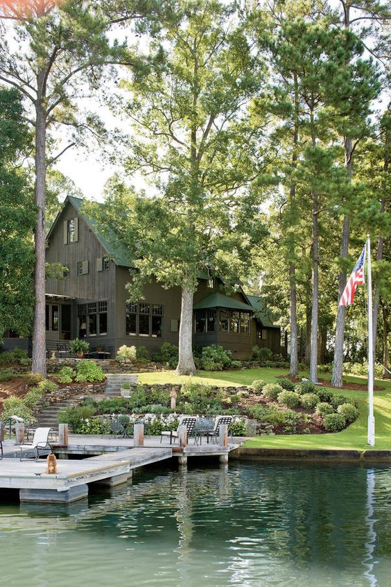 Natural Georgia Lake House Year Round Lake House - Naturally Inspired Georgia Lake House - Southernliving. For twenty years