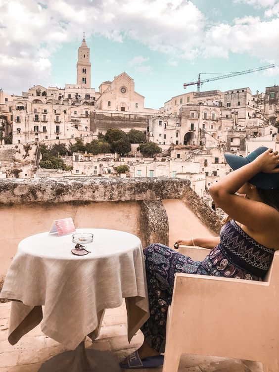 Solo trip to Matera, Italy
