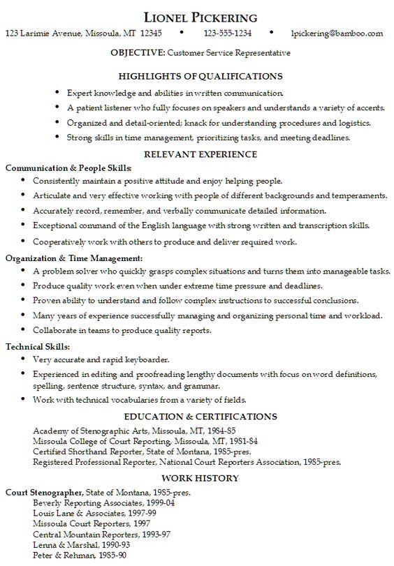 Court Reporter Resume Samples Gallery Of Court Reporter Resume - stenographer resume