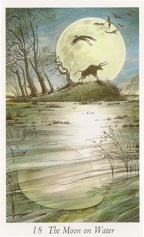 Tarot, The Moon And Water On Pinterest