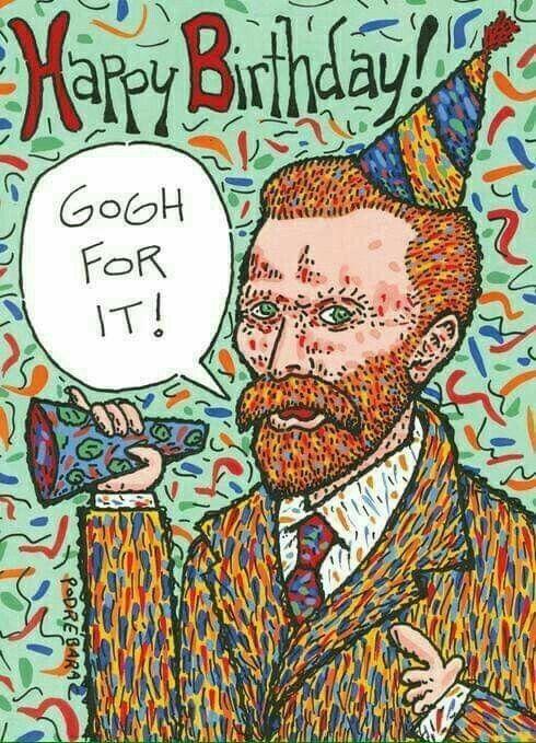 Happy Birthday Artist Meme : happy, birthday, artist, Nancy, Vincent, Funny