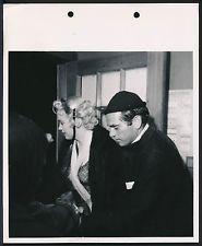 RARE 1956 Original KEYBOOK Photo MARILYN MONROE Awaits her Call on the Set
