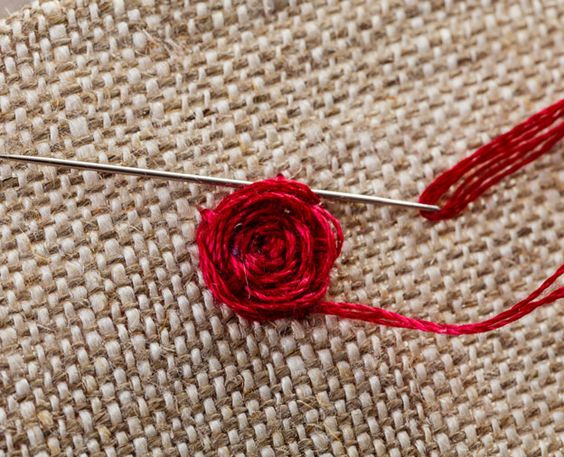 Homespun s stitch steps embroidery tutorial for woven