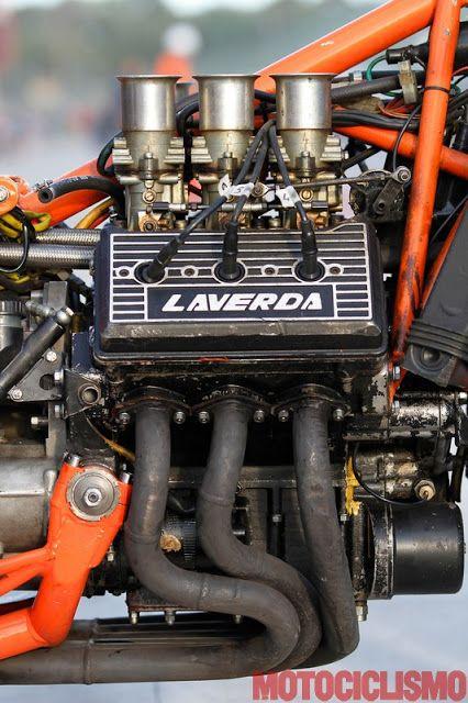 Laverda V6 | 234° https://de.pinterest.com/FullThrottleSOS/motorcycle-engines/